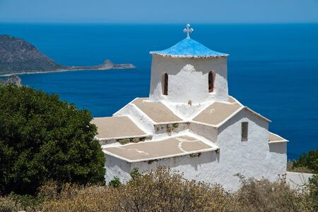 laconia: The old church of Metamorphosis in Laconia of Peloponnese, Greece
