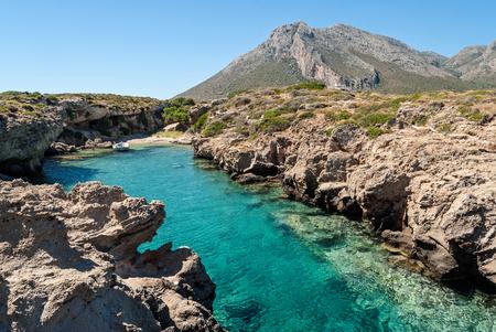 laconia: Narrow gulf in Peloponnese, Greece