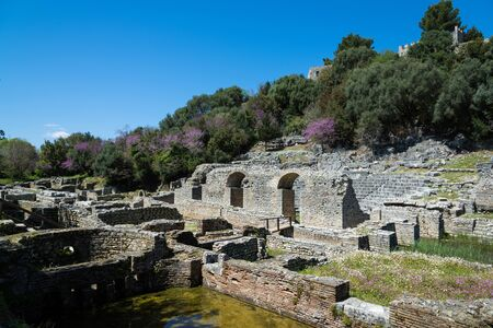 Part of the archaeological site of Butrint in Albania