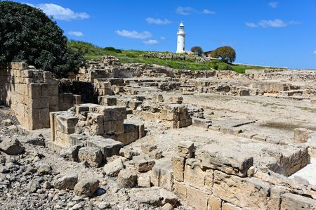 Part of the Kato Paphos Archaeological Park in Cyprus