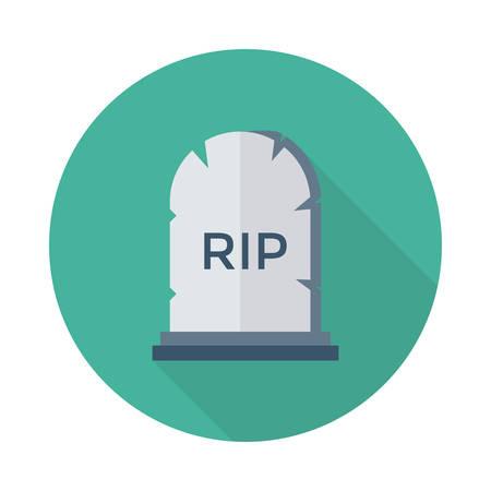 Coffin icon. Illusztráció