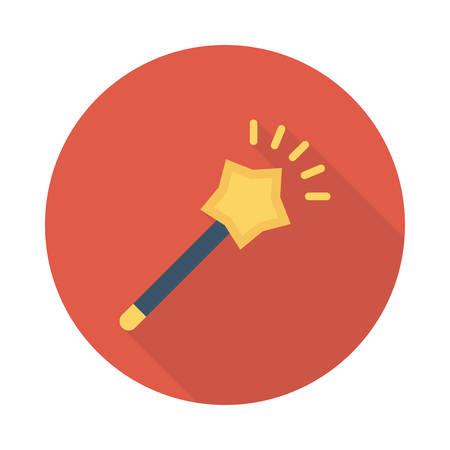 Magic wand icon. 向量圖像
