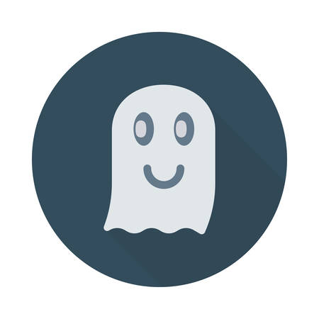Ghost icon. Illustration