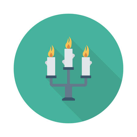 Candles icon.