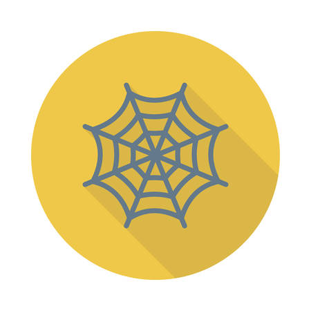 Spider web icon.
