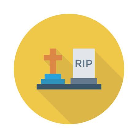 Tombstone icon.
