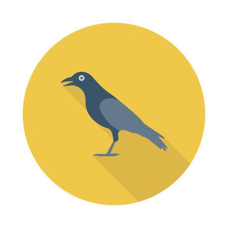 Crow. Illustration