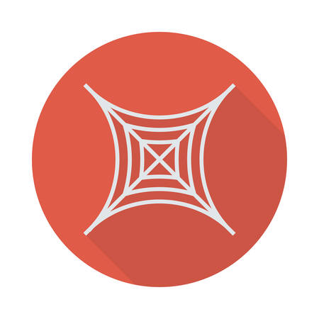 Spider web pictogram.