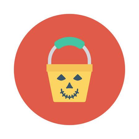 Halloween pale icon.