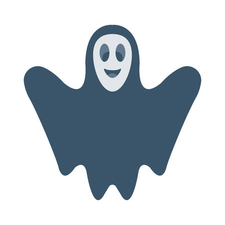 Halloween ghost icon.