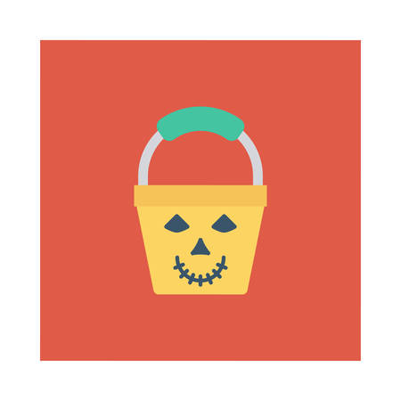 Halloween pale icon.