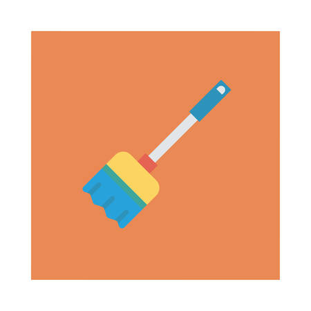 Halloween broom icon. Фото со стока - 88395291