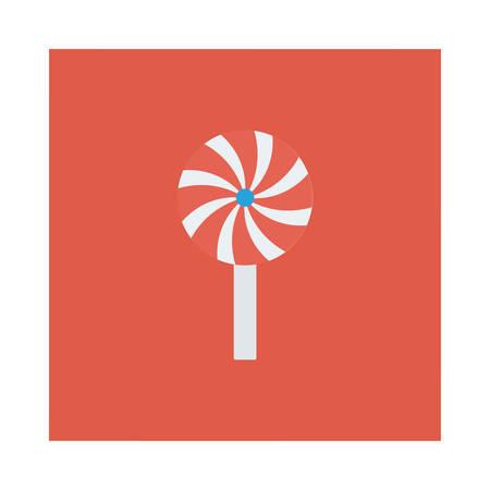 Halloween candy icon. 向量圖像