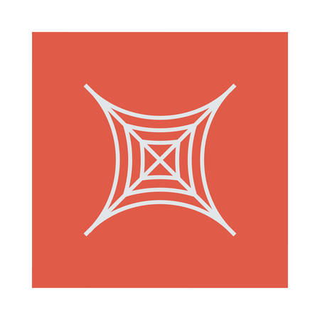 Halloween web pictogram.