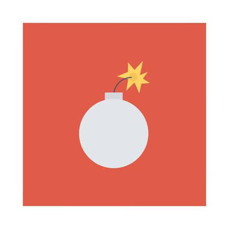 Halloween dynamite icon. Ilustração
