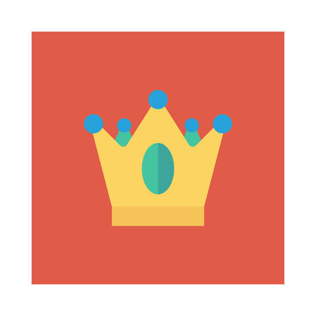Crown of a king illustration for Halloween event.