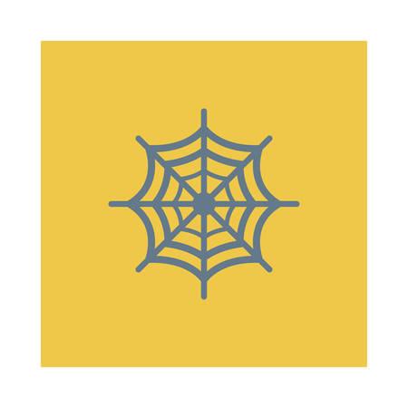 Araignée illustration web pour halloween ornithologue Banque d'images - 88395885