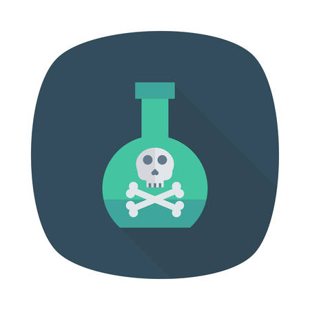 Halloween potion icon.