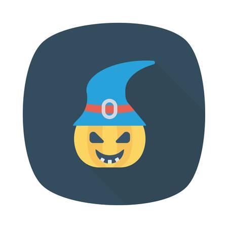 Halloween pumkin icon.