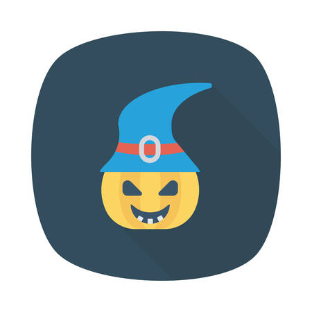 Halloween pumkin icon.