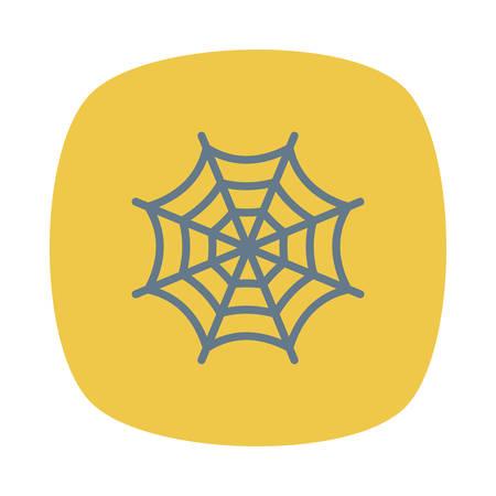Halloween thema pictogram.