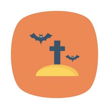 Halloween themed icon.