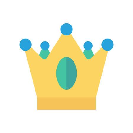 Koning kroon Halloween thema pictogram.