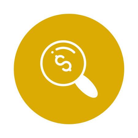 Une illustration de recherche icône . Banque d'images - 88801773