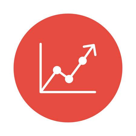 Ein Grafik- oder Diagrammsymbol. Standard-Bild - 88801771