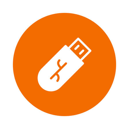 A flash drive icon