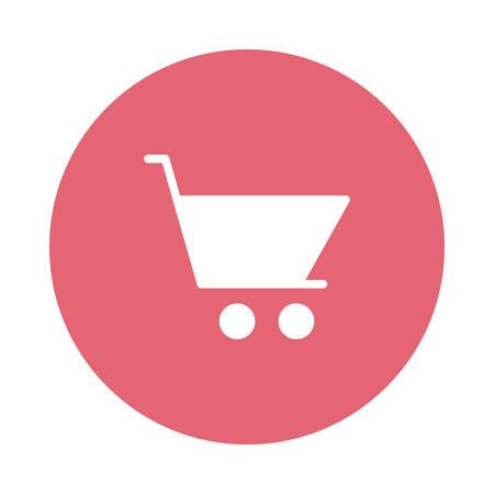 A shopping cart icon.