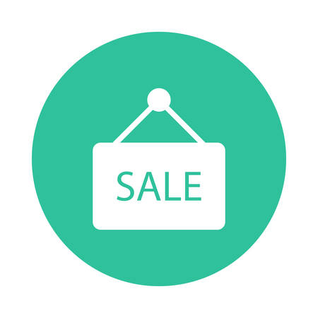 A sale tag icon. Иллюстрация