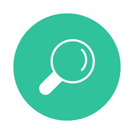 Une illustration de recherche icône . Banque d'images - 88805856