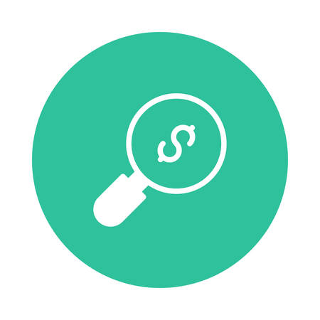 A search icon illustration.
