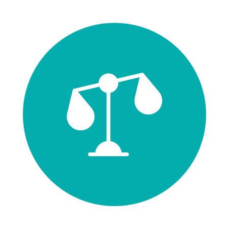 Een illustratie van het rechtvaardigheidspictogram.