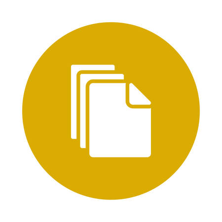 File icon  illustration. Illusztráció