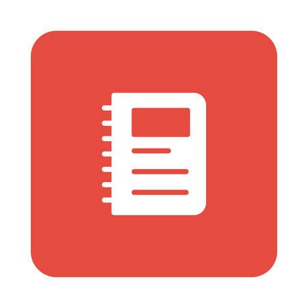 notebook in vector illustration