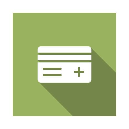 creditcard in vector illustration