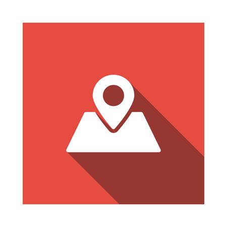 Kaart in vectorillustratie Stockfoto - 89045044