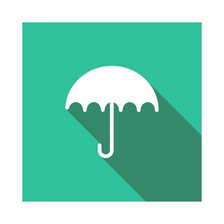 umbrella  in vector illustration Zdjęcie Seryjne - 89045048