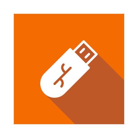 flash  in vector illustration Иллюстрация