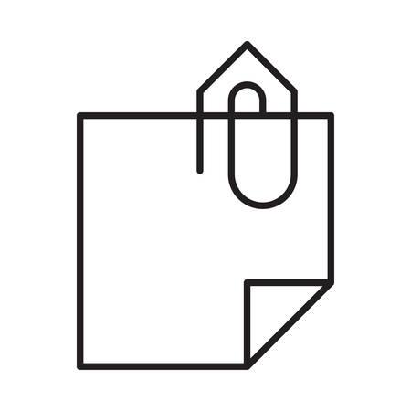 paper  in vector illustration Çizim