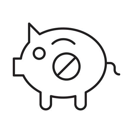 financiën in vectorillustratie