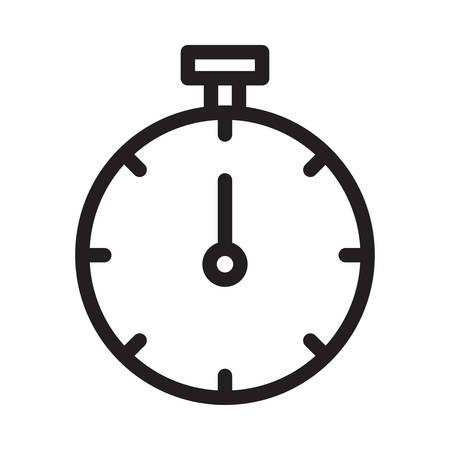 timer in vector illustration Ilustração