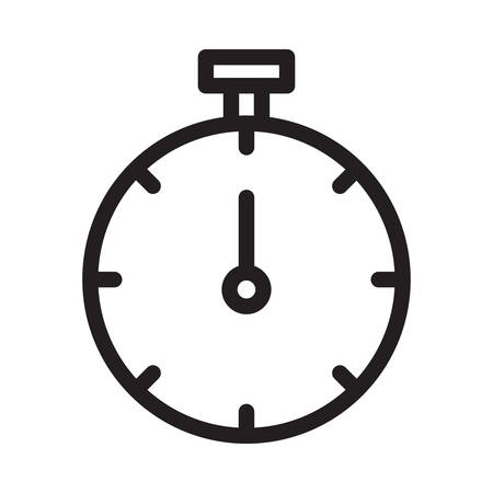 timer in vector illustration Illusztráció