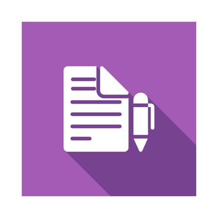 Stift in Vektor-Illustration Standard-Bild - 89045313