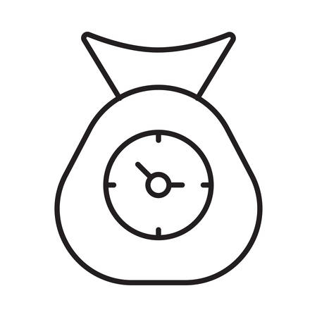 time in vector illustration