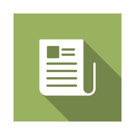 reading in vector illustration