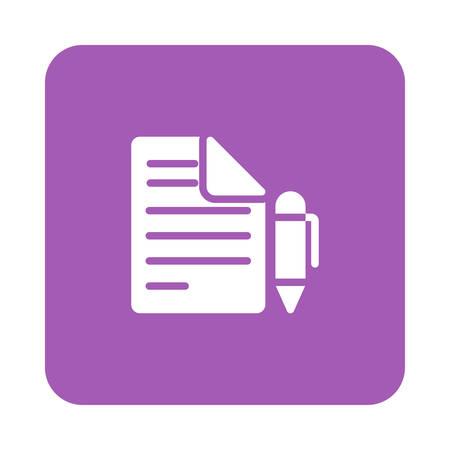 Stift in Vektor-Illustration Standard-Bild - 89045325