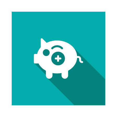 piggy in vector illustration